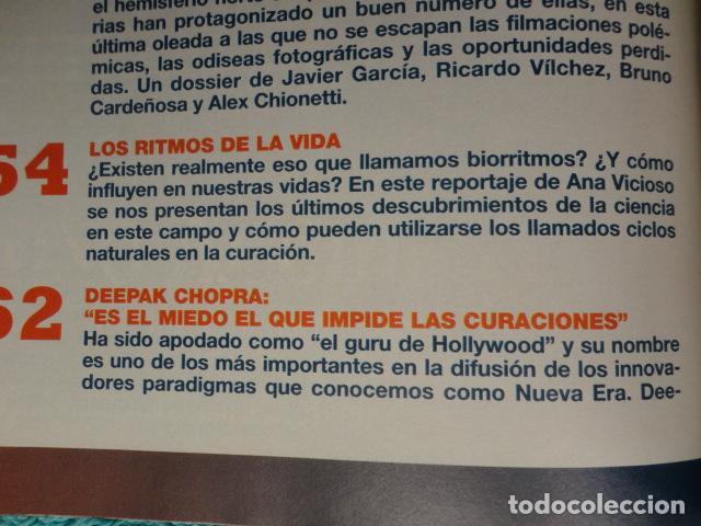 Coleccionismo de Revista Más Allá: REVISTA MAS ALLA N º 109 ,AÑO 1.998 - VIAJE AL HIPERESPACIO - INCREIBLES SANACIONES -VICENTE FERRER - Foto 4 - 72228867