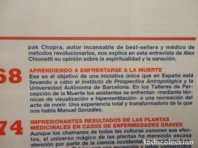 Coleccionismo de Revista Más Allá: REVISTA MAS ALLA N º 109 ,AÑO 1.998 - VIAJE AL HIPERESPACIO - INCREIBLES SANACIONES -VICENTE FERRER - Foto 5 - 72228867