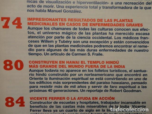 Coleccionismo de Revista Más Allá: REVISTA MAS ALLA N º 109 ,AÑO 1.998 - VIAJE AL HIPERESPACIO - INCREIBLES SANACIONES -VICENTE FERRER - Foto 6 - 72228867