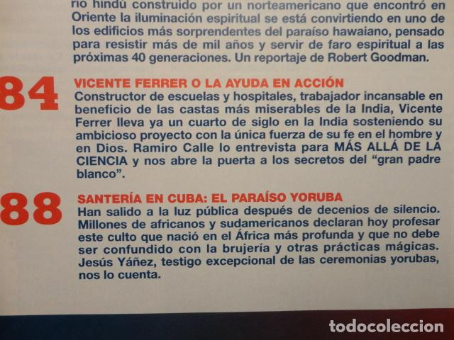 Coleccionismo de Revista Más Allá: REVISTA MAS ALLA N º 109 ,AÑO 1.998 - VIAJE AL HIPERESPACIO - INCREIBLES SANACIONES -VICENTE FERRER - Foto 7 - 72228867