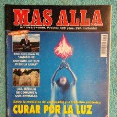 Coleccionismo de Revista Más Allá: REVISTA MAS ALLA ,Nº 113 AÑO 1.998 -CURAR POR LA LUZ - ALDRIN ,JAMAS HE CONTADO LO QUE VI EL LA LUNA. Lote 72230283