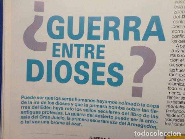 Coleccionismo de Revista Más Allá: REVISTA MAS ALLA ,Nº EXTRA , AÑO 1.991 - GUERRA Y PAZ - ( GUERRA DEL GOLFO ) - Foto 7 - 72236855