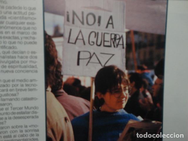Coleccionismo de Revista Más Allá: REVISTA MAS ALLA ,Nº EXTRA , AÑO 1.991 - GUERRA Y PAZ - ( GUERRA DEL GOLFO ) - Foto 8 - 72236855