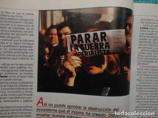 Coleccionismo de Revista Más Allá: REVISTA MAS ALLA ,Nº EXTRA , AÑO 1.991 - GUERRA Y PAZ - ( GUERRA DEL GOLFO ) - Foto 9 - 72236855