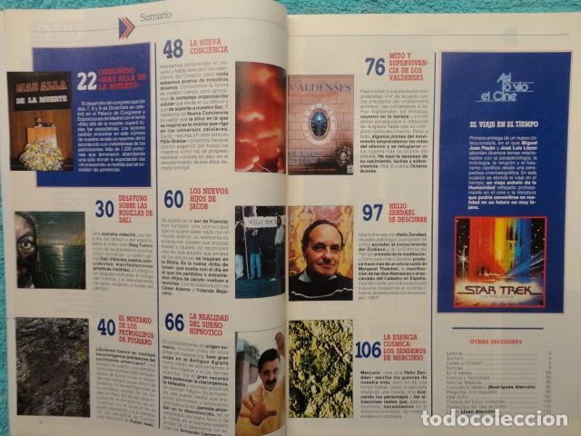 Coleccionismo de Revista Más Allá: REVISTA MAS ALLA , Nº 23 AÑO 1.991 - LA NUEVA CONCIENCIA - LOS VALDENSES - LOS NUEVOS HIJOS DE JACOB - Foto 2 - 72243891