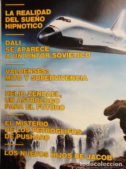 Coleccionismo de Revista Más Allá: REVISTA MAS ALLA , Nº 23 AÑO 1.991 - LA NUEVA CONCIENCIA - LOS VALDENSES - LOS NUEVOS HIJOS DE JACOB - Foto 3 - 72243891