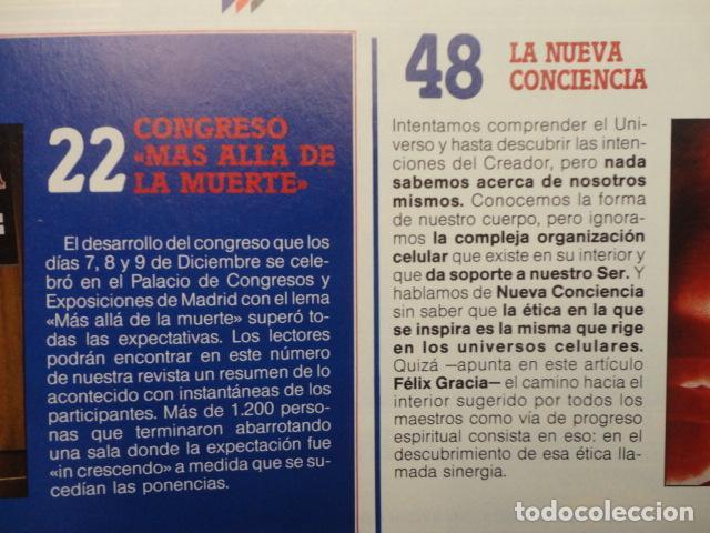 Coleccionismo de Revista Más Allá: REVISTA MAS ALLA , Nº 23 AÑO 1.991 - LA NUEVA CONCIENCIA - LOS VALDENSES - LOS NUEVOS HIJOS DE JACOB - Foto 4 - 72243891