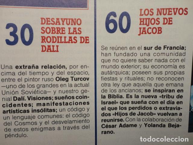 Coleccionismo de Revista Más Allá: REVISTA MAS ALLA , Nº 23 AÑO 1.991 - LA NUEVA CONCIENCIA - LOS VALDENSES - LOS NUEVOS HIJOS DE JACOB - Foto 5 - 72243891