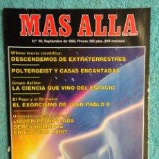 Coleccionismo de Revista Más Allá: REVISTA MAS ALLA ,Nº 55 ,AÑO 1.993 - EL EXORCISMO DE JUAN PABLO II - POLTERGEIST Y CASAS ENCANTADAS. Lote 72251135