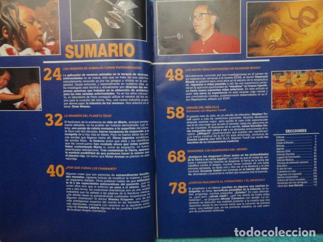 Coleccionismo de Revista Más Allá: REVISTA MAS ALLA ,Nº 54 AÑO 1.993 - CIRUGIA DEL MAS ALLA - POR QUE CURAN LOS CHAMANES - PLANETA ROJO - Foto 10 - 72254167