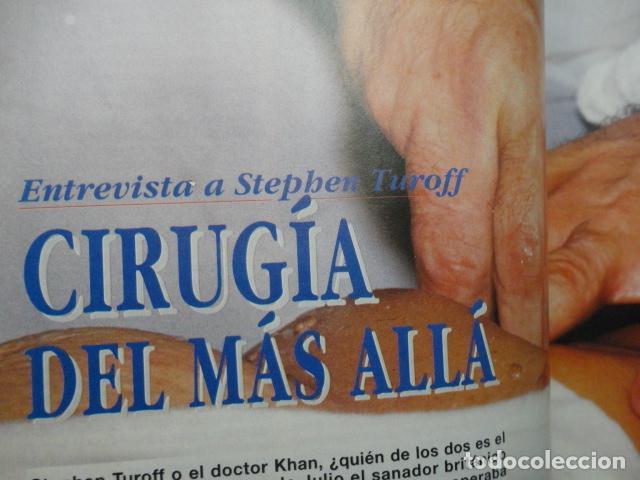 Coleccionismo de Revista Más Allá: REVISTA MAS ALLA ,Nº 54 AÑO 1.993 - CIRUGIA DEL MAS ALLA - POR QUE CURAN LOS CHAMANES - PLANETA ROJO - Foto 14 - 72254167