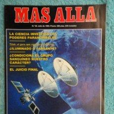 Coleccionismo de Revista Más Allá: REVISTA MAS ALLA ,Nº 53 AÑO 1.993 - LA CIENCIA INVESTIGA LOS PODERES PARANORMALES - EL JUICIO FINAL. Lote 72255739