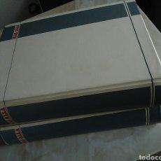 Coleccionismo de Revista Más Allá: REVISTA MÁS ALLÁ - 2 TOMOS ARCHIVADORES,NUMS 1989-90 -JIMENEZ DEL OSO Y FÉLIX GRACIA DIRECTORES. Lote 73135607