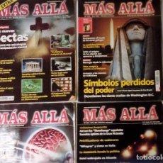Coleccionismo de Revista Más Allá: MÁS ALLÁ LOTE DE 4 REVISTAS (NÚMS. 231,233,236, 249). Lote 75561427