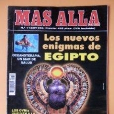 Collectionnisme de Magazine Más Allá: MÁS ALLÁ DE LA CIENCIA. Nº 114/8/1998. LOS NUEVOS ENIGMAS DE EGIPTO - DIVERSOS AUTORES. Lote 76442726