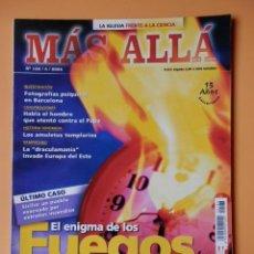 Collectionnisme de Magazine Más Allá: MÁS ALLÁ DE LA CIENCIA. Nº 183/5/2004. EL ENIGMA DE LOS FUEGOS ESPONTÁNEOS - DIVERSOS AUTORES. Lote 224892060