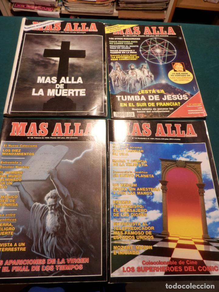 Coleccionismo de Revista Más Allá: MÁS ALLÁ - LOTE DE 16 REVISTAS, Nº EXTRA + 95-48-33-31-30-23-22-21-20-19-18-17-14-13-2 - Foto 2 - 78954569