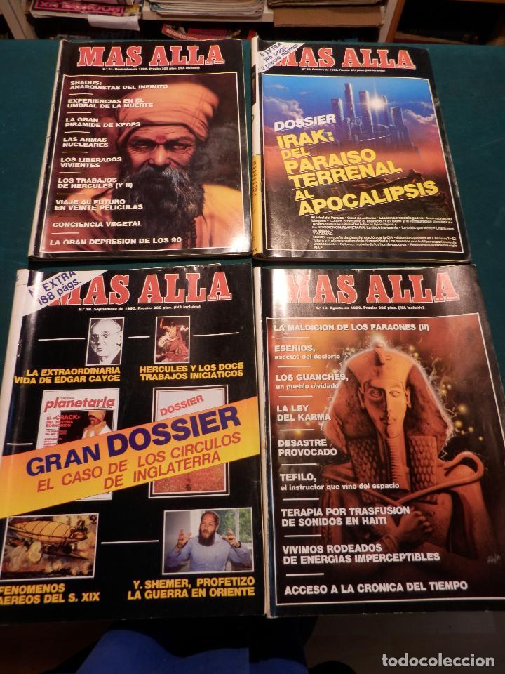 Coleccionismo de Revista Más Allá: MÁS ALLÁ - LOTE DE 16 REVISTAS, Nº EXTRA + 95-48-33-31-30-23-22-21-20-19-18-17-14-13-2 - Foto 4 - 78954569