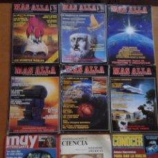 Coleccionismo de Revista Más Allá: LOTE DE 9 REVISTAS MISTERIO REVISTA MÁS ALLÁ 2 8 10 12 16 23 MUY INTERESANTE 31 CONOCER CIENCIA. Lote 80754622