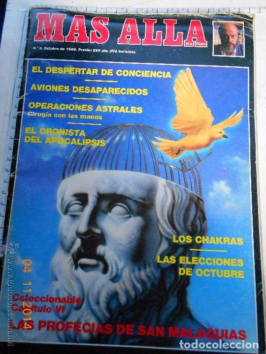 REVISTA MÁS ALLÁ - 8 AVIONES DESAPARECIDOS- SAN MALAQUIAS - JIMÉNEZ DEL OSO --REFSAMUESC (Coleccionismo - Revistas y Periódicos Modernos (a partir de 1.940) - Revista Más Allá)