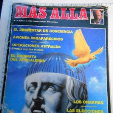 Coleccionismo de Revista Más Allá: REVISTA MÁS ALLÁ - 8 AVIONES DESAPARECIDOS- SAN MALAQUIAS - JIMÉNEZ DEL OSO --REFSAMUESC. Lote 82140356