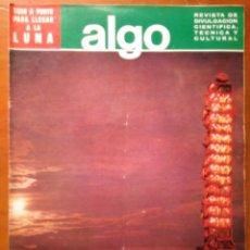 Coleccionismo de Revista Más Allá: REVISTA CIENTIFICA EDITORIAL HYMSA ALGO - 1969 - NUMERO 134 - DESCUBIERTA TRIBU AMAZONICA . Lote 84806816