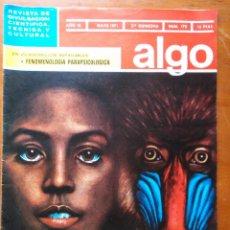 Coleccionismo de Revista Más Allá: REVISTA CIENTIFICA EDITORIAL HYMSA ALGO - AÑOS 60 / 70 MUCHAS EN TIENDA . Lote 84807084