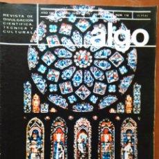 Coleccionismo de Revista Más Allá: REVISTA CIENTIFICA EDITORIAL HYMSA ALGO TECNICA Y CULTURAL - AÑOS 60 / 70 MUCHAS EN TIENDA . Lote 84807156
