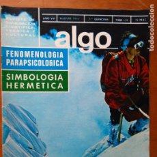 Coleccionismo de Revista Más Allá: REVISTA CIENTIFICA EDITORIAL HYMSA ALGO TECNICA Y CULTURAL - AÑOS 60 / 70 MUCHAS EN TIENDA . Lote 84807228