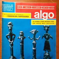 Coleccionismo de Revista Más Allá: REVISTA CIENTIFICA EDITORIAL HYMSA ALGO TECNICA Y CULTURAL - AÑOS 60 / 70 MUCHAS EN TIENDA . Lote 84807296