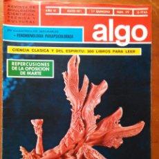 Coleccionismo de Revista Más Allá: REVISTA CIENTIFICA EDITORIAL HYMSA ALGO TECNICA Y CULTURAL - AÑOS 60 / 70 MUCHAS EN TIENDA . Lote 84807336