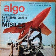 Coleccionismo de Revista Más Allá: REVISTA CIENTIFICA EDITORIAL HYMSA ALGO TECNICA Y CULTURAL - AÑOS 60 / 70 MUCHAS EN TIENDA . Lote 84807376