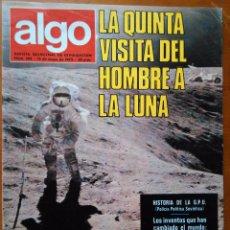 Coleccionismo de Revista Más Allá: REVISTA CIENTIFICA EDITORIAL HYMSA ALGO TECNICA Y CULTURAL - AÑOS 60 / 70 MUCHAS EN TIENDA . Lote 84807428