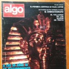 Coleccionismo de Revista Más Allá: REVISTA CIENTIFICA EDITORIAL HYMSA ALGO TECNICA Y CULTURAL - AÑOS 60 / 70 MUCHAS EN TIENDA . Lote 84807472