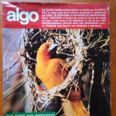 Coleccionismo de Revista Más Allá: REVISTA CIENTIFICA EDITORIAL HYMSA ALGO TECNICA Y CULTURAL - AÑOS 60 / 70 MUCHAS EN TIENDA . Lote 84807516