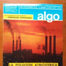Coleccionismo de Revista Más Allá: REVISTA CIENTIFICA EDITORIAL HYMSA ALGO TECNICA Y CULTURAL - AÑOS 60 / 70 MUCHAS EN TIENDA . Lote 84807536