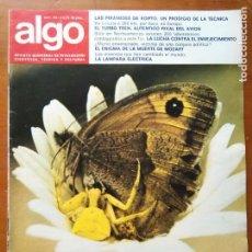 Coleccionismo de Revista Más Allá: REVISTA CIENTIFICA EDITORIAL HYMSA ALGO TECNICA Y CULTURAL - AÑOS 60 / 70 MUCHAS EN TIENDA . Lote 84808276