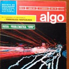 Coleccionismo de Revista Más Allá: REVISTA CIENTIFICA EDITORIAL HYMSA ALGO TECNICA Y CULTURAL - AÑOS 60 / 70 MUCHAS EN TIENDA . Lote 84808308