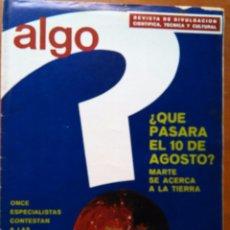 Coleccionismo de Revista Más Allá: REVISTA CIENTIFICA EDITORIAL HYMSA ALGO TECNICA Y CULTURAL - AÑOS 60 / 70 MUCHAS EN TIENDA . Lote 84808368