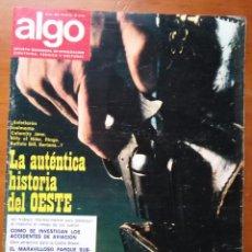 Coleccionismo de Revista Más Allá: REVISTA CIENTIFICA EDITORIAL HYMSA ALGO TECNICA Y CULTURAL - AÑOS 60 / 70 MUCHAS EN TIENDA . Lote 84808980