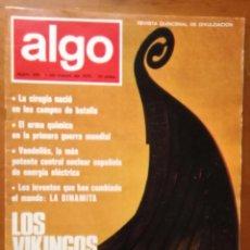Coleccionismo de Revista Más Allá: REVISTA CIENTIFICA EDITORIAL HYMSA ALGO TECNICA Y CULTURAL - AÑOS 60 / 70 MUCHAS EN TIENDA . Lote 84809256