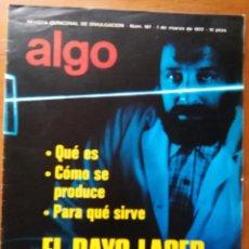 Coleccionismo de Revista Más Allá: REVISTA CIENTIFICA EDITORIAL HYMSA ALGO TECNICA Y CULTURAL - AÑOS 60 / 70 MUCHAS EN TIENDA . Lote 84809336
