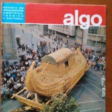 Coleccionismo de Revista Más Allá: REVISTA CIENTIFICA EDITORIAL HYMSA ALGO TECNICA Y CULTURAL - AÑOS 60 / 70 MUCHAS EN TIENDA . Lote 84809376