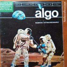 Coleccionismo de Revista Más Allá: REVISTA CIENTIFICA EDITORIAL HYMSA ALGO TECNICA Y CULTURAL - AÑOS 60 / 70 MUCHAS EN TIENDA . Lote 84809460