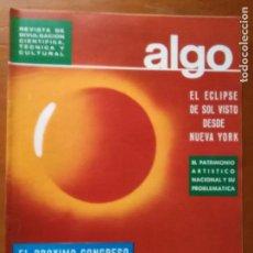 Coleccionismo de Revista Más Allá: REVISTA CIENTIFICA EDITORIAL HYMSA ALGO TECNICA Y CULTURAL - AÑOS 60 / 70 MUCHAS EN TIENDA . Lote 84809516