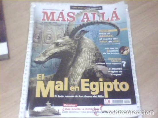REVISTA ESOTERICA MAS ALLA 204 --REFSAMUESC (Coleccionismo - Revistas y Periódicos Modernos (a partir de 1.940) - Revista Más Allá)