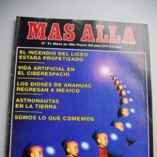 Coleccionismo de Revista Más Allá: MAS ALLÁ NUMERO 61 AÑO 1994 INCENDIO DEL LICEO-MAESTRO DEL LAMA OSEL-DIOSES DE ANAHUA --REFSAMUESC. Lote 85141372