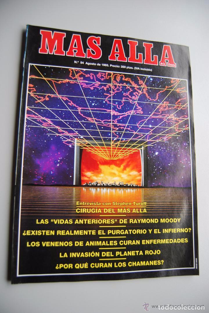 MAS ALLÁ NUMERO 54 AÑO 1993 STEPHEN TUROFF-RAYMOND MOODY-PURGATORIO E INFIERNO-VENENO (Coleccionismo - Revistas y Periódicos Modernos (a partir de 1.940) - Revista Más Allá)