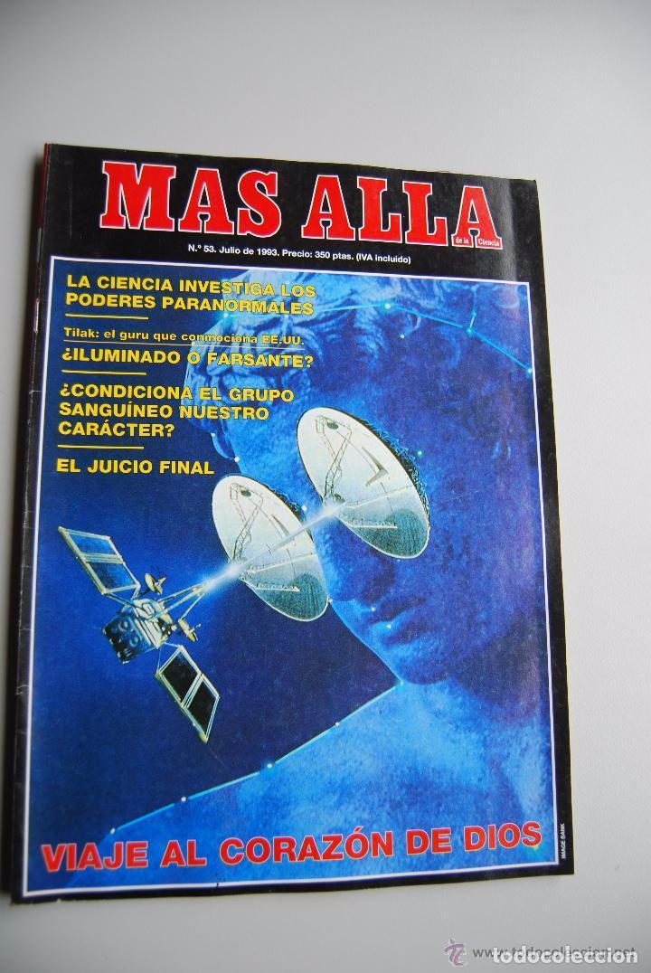 MAS ALLÁ NUMERO 53 AÑO 1993 VIAJE AL CORAZÓN DE DIOS-PODERES PARANORMALES-TILAK (Coleccionismo - Revistas y Periódicos Modernos (a partir de 1.940) - Revista Más Allá)