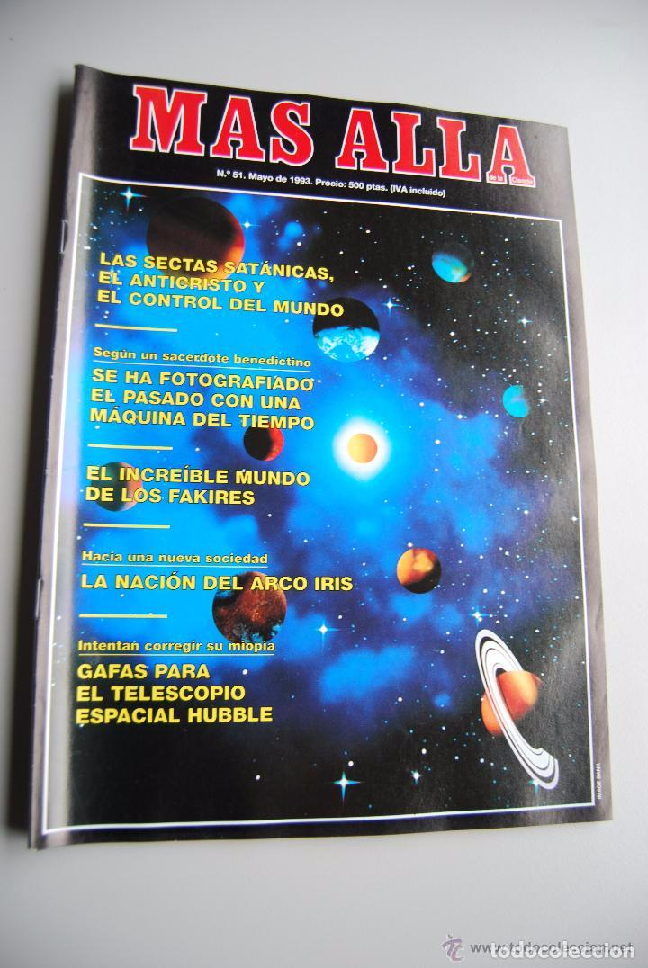 MAS ALLÁ NUMERO 51 AÑO 1993 SECTAS SATÁNICAS-FAKIRES-NACION DEL ARCO IRIS (Coleccionismo - Revistas y Periódicos Modernos (a partir de 1.940) - Revista Más Allá)